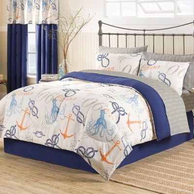 Buy Nautical 8 Piece King Comforter Set From Bed Bath Beyond