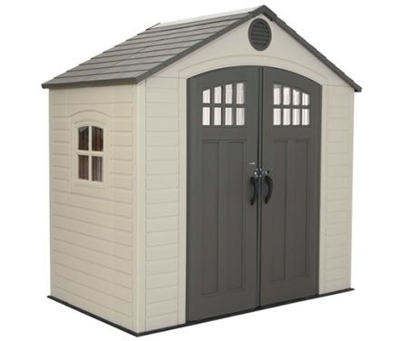 Wondrous Lifetime 8X5 New Style Plastic Storage Shed Kit 60113 Download Free Architecture Designs Scobabritishbridgeorg