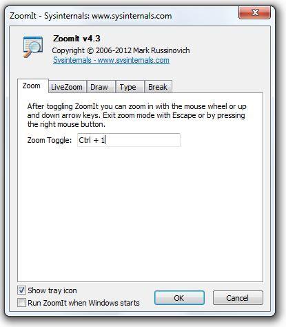 Windows Zoom