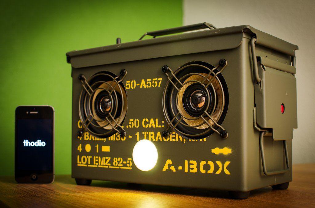 Thodio .50 CAL ABOX™ The Original Ammo Can Boombox Ammo