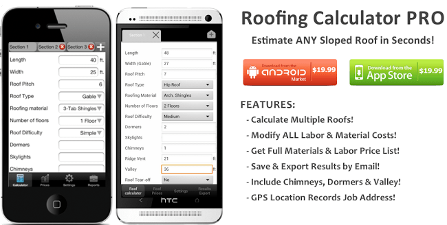 Roofing Calculator Estimate The Cost Of A New Roof Roofing Calculator Roofing Roofing Estimate