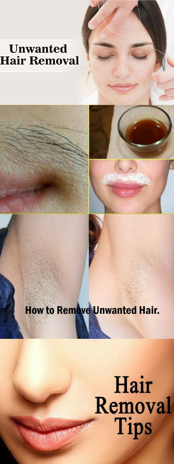 how to remove body hair naturally on babies
