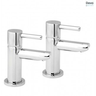 Insignia One Lever Handle Bath Taps with 80 mm Spout Reach  Pair. Insignia One Lever Handle Bath Taps with 80 mm Spout Reach  Pair
