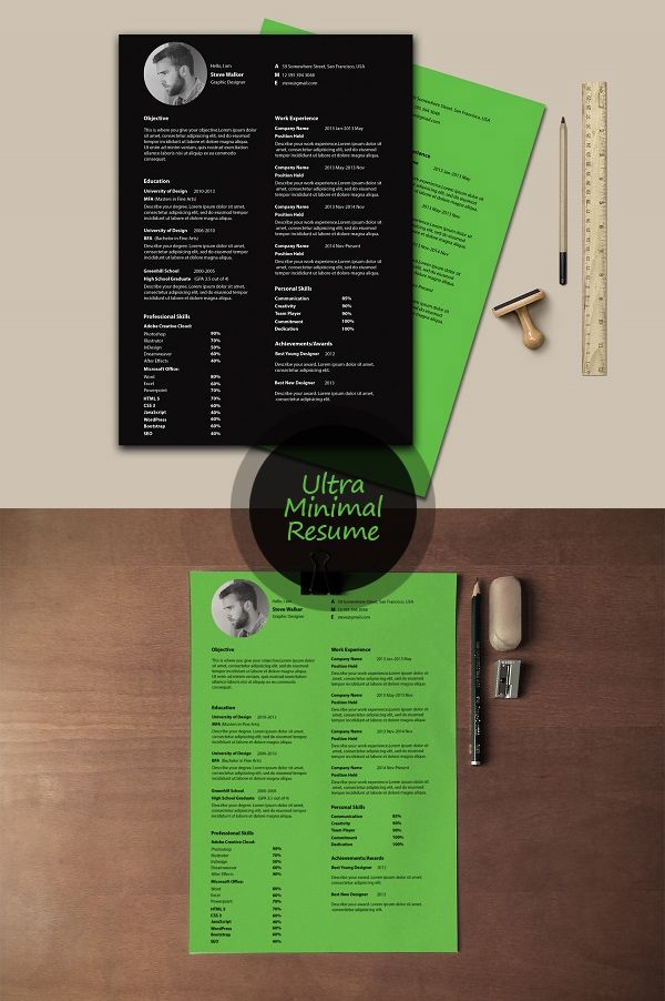 free ultra minimal resume template psd blog world and personal