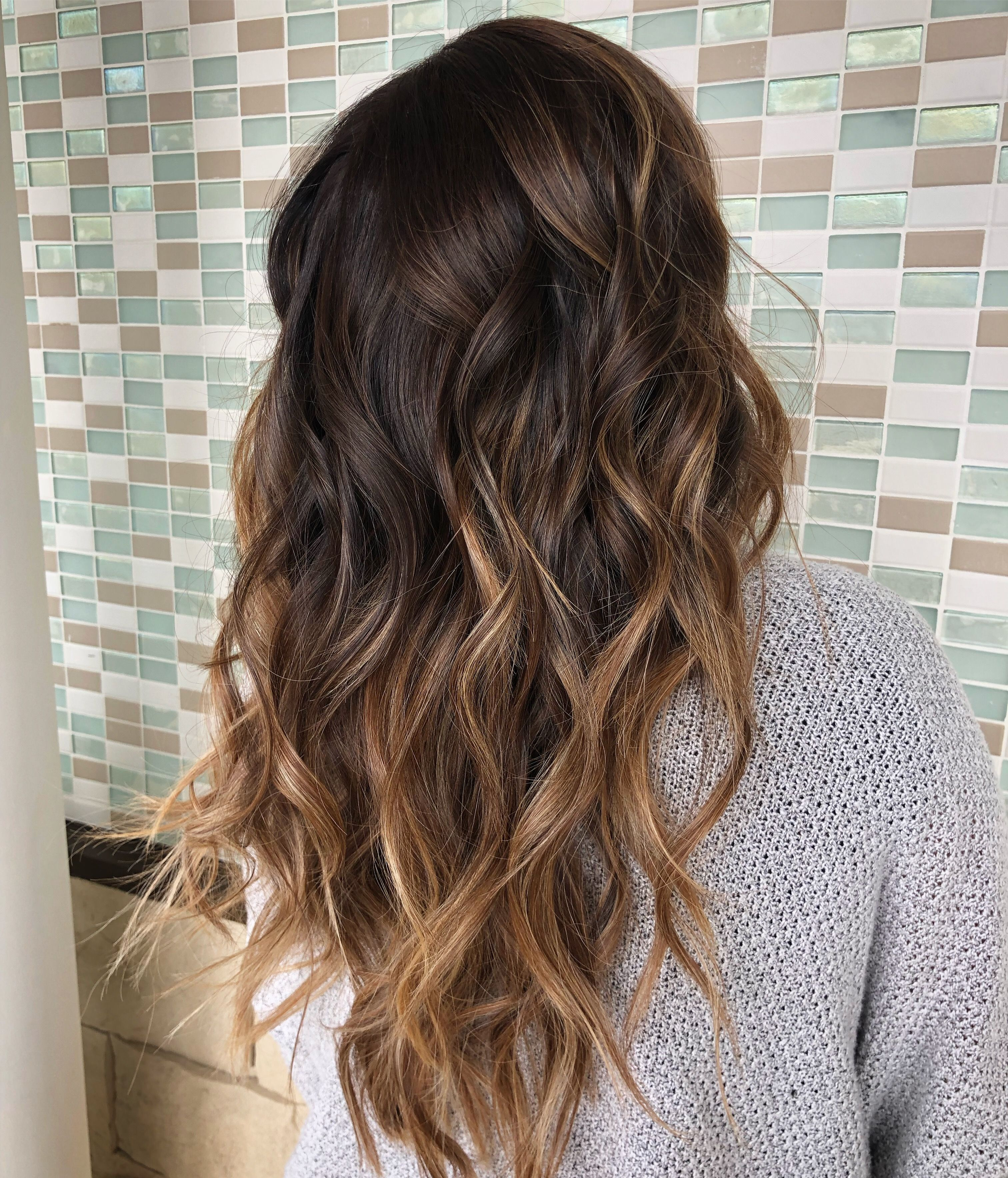 Subtle Warm Balayage Long Hair Styles Warm Balayage Balayage