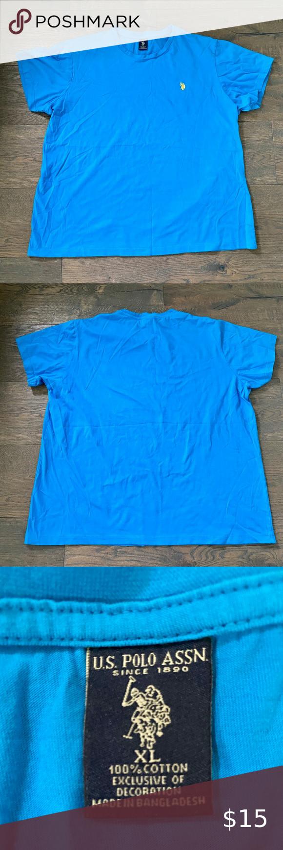 Men S U S Polo Blue T Shirt Blue Tshirt Polo Blue Polo T Shirts
