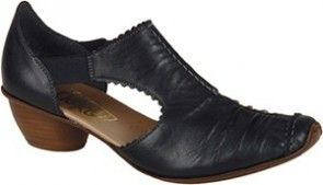 The Rieker Mirjam 13 Women's Dress Shoes in Black