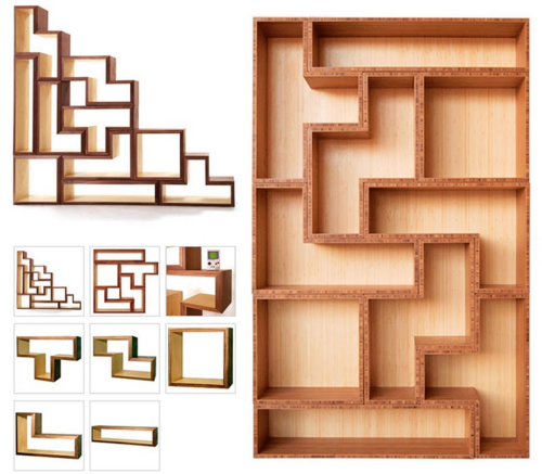Ordinaire Tetris Furniture/shelving!