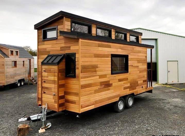 Tiny House Made Out Of Pallets | 99 Pallets  ........................................................ Please Save This  Pin.