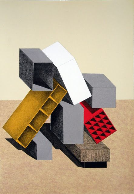 Ettore Sottsass Lithograph 2002