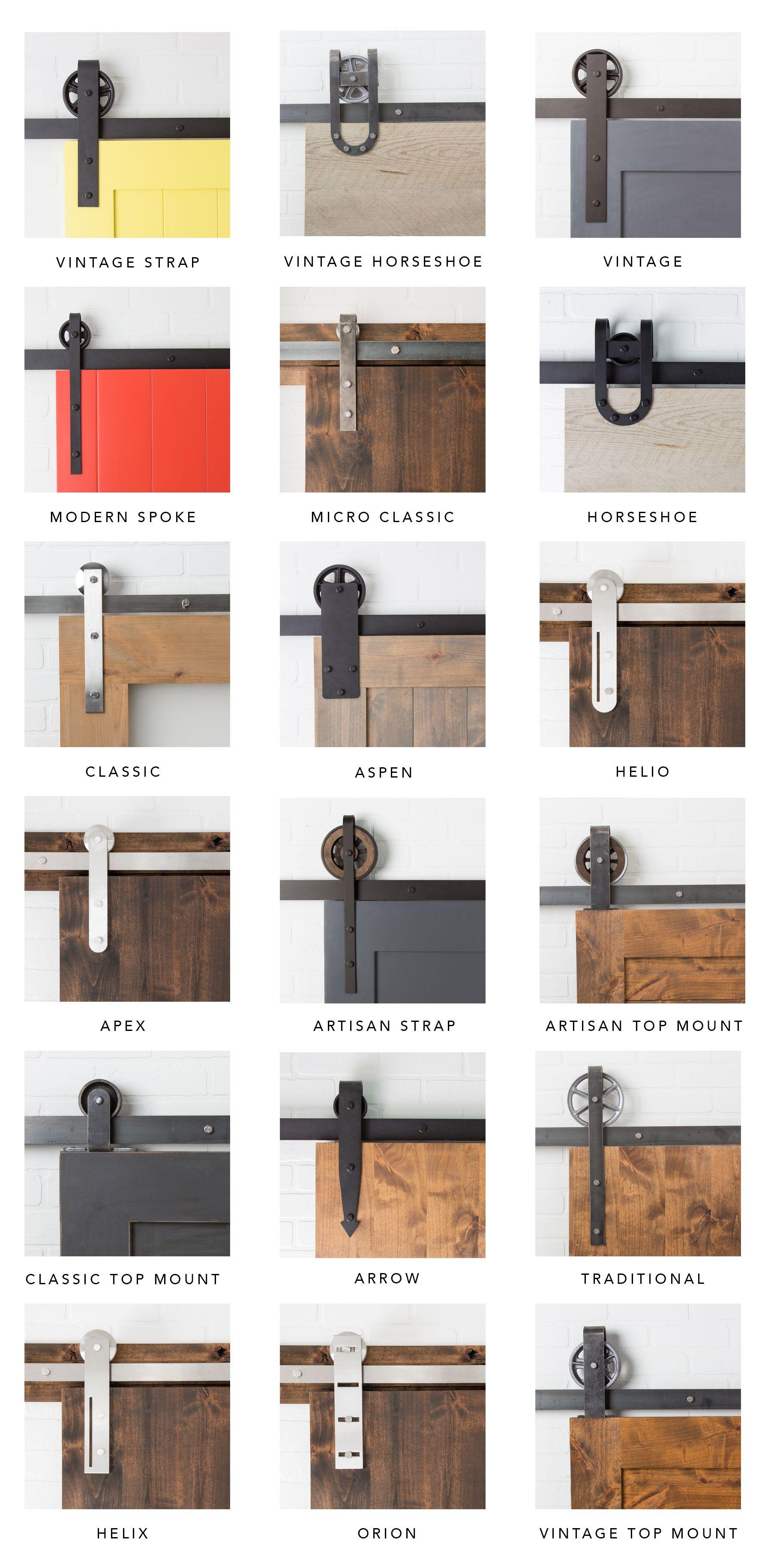 Artisan hardware sliding barn doors barn door for Interior door hardware trends