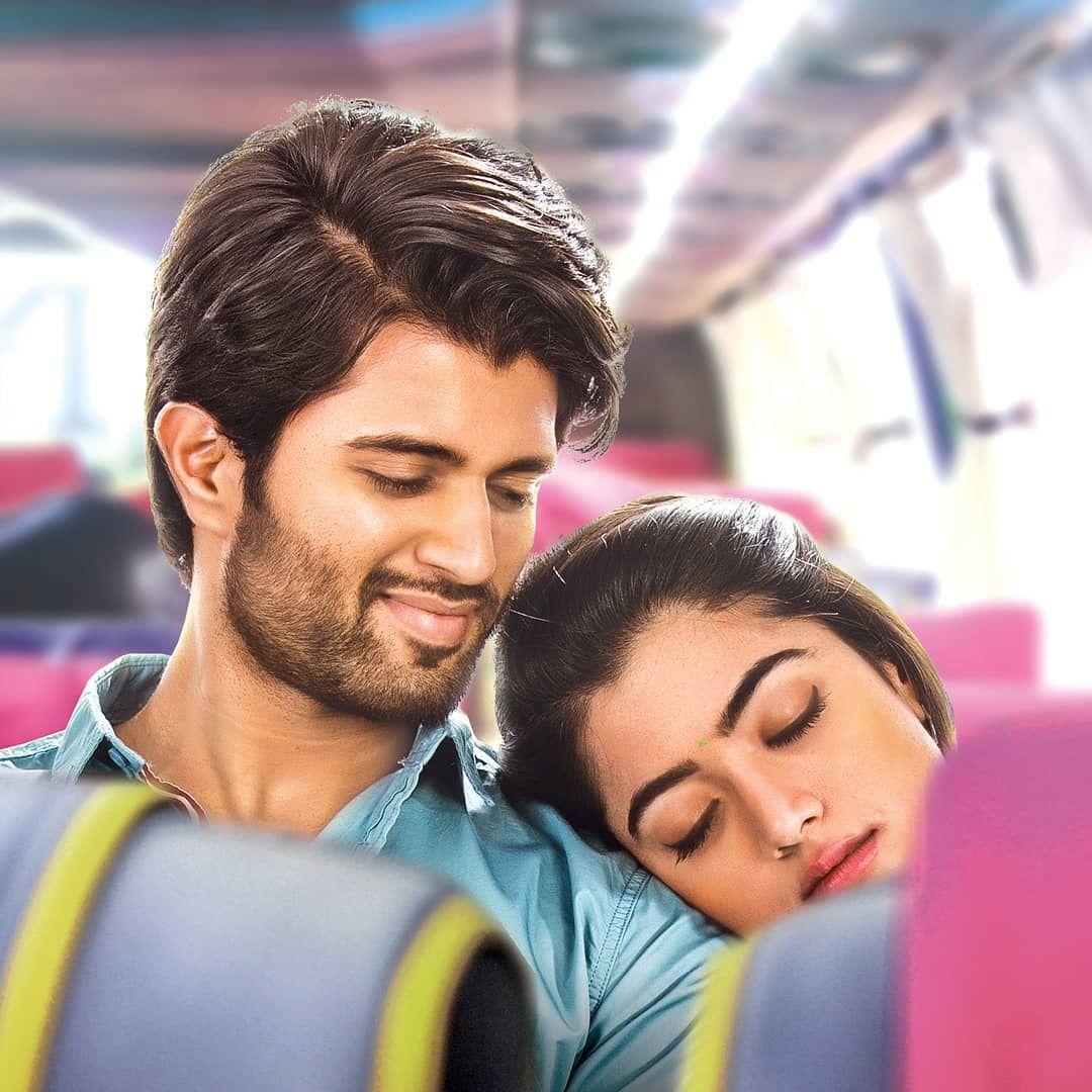 Image May Contain 2 People Closeup Vijay Actor Movie Couples