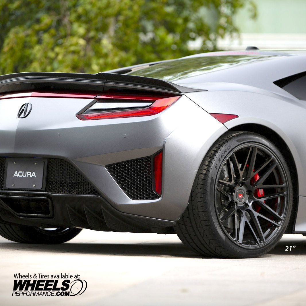 Acura NSX On @Vossen Forged VPS-314 Wheels Finished In