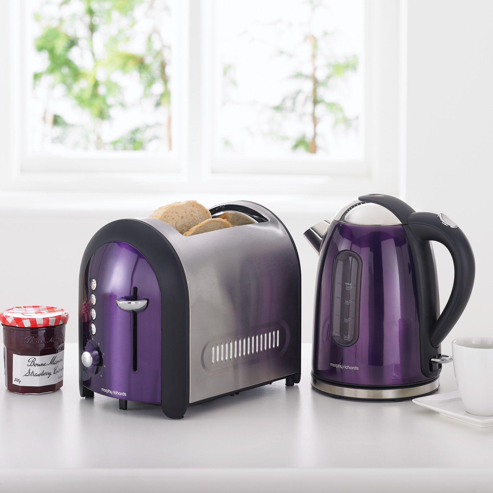 Uncategorized Plum Kitchen Appliances morphy richards meno metallic plum matching kettle kitchens