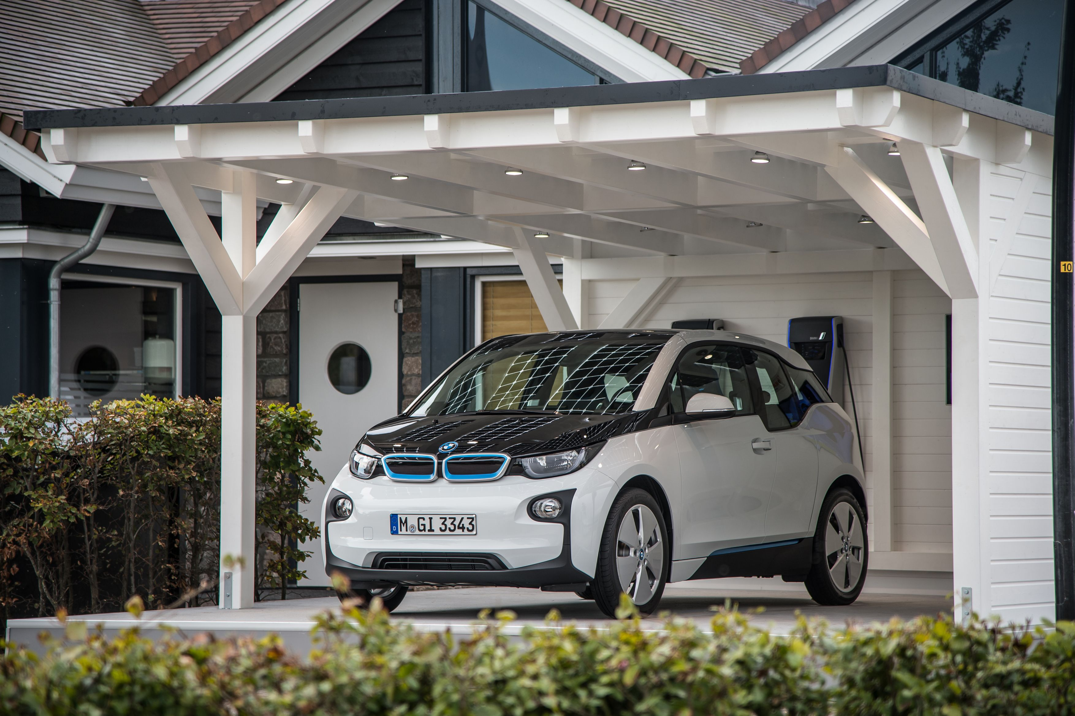 Bmwi3 Car Honda Brio Bmw I3
