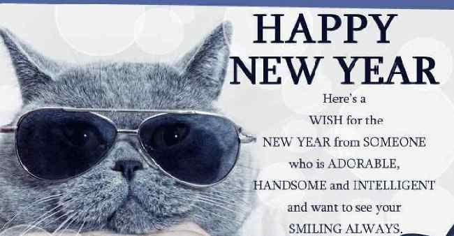 Funny Happy New Year Message 2018 Happy New Year Greetings Message ...