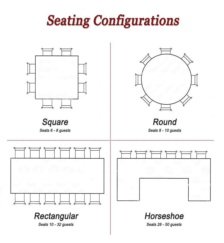 Ceremony Seating Reception: Wedding Reception Seating Arrangement Ideas. Let