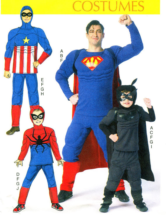 Avenger, Muscle Costumes! Boys / Men Superhero Costumes! Captain ...