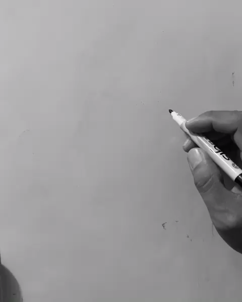 Pencil Sketch artist Efraín Malo
