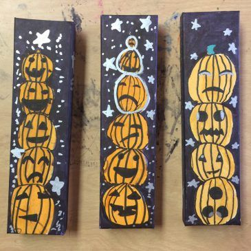 Halloween Boxes with Sharpies Children\u0027s Art Projects Pinterest - halloween club decorations