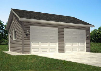 Perfect Garage Plan For My House.