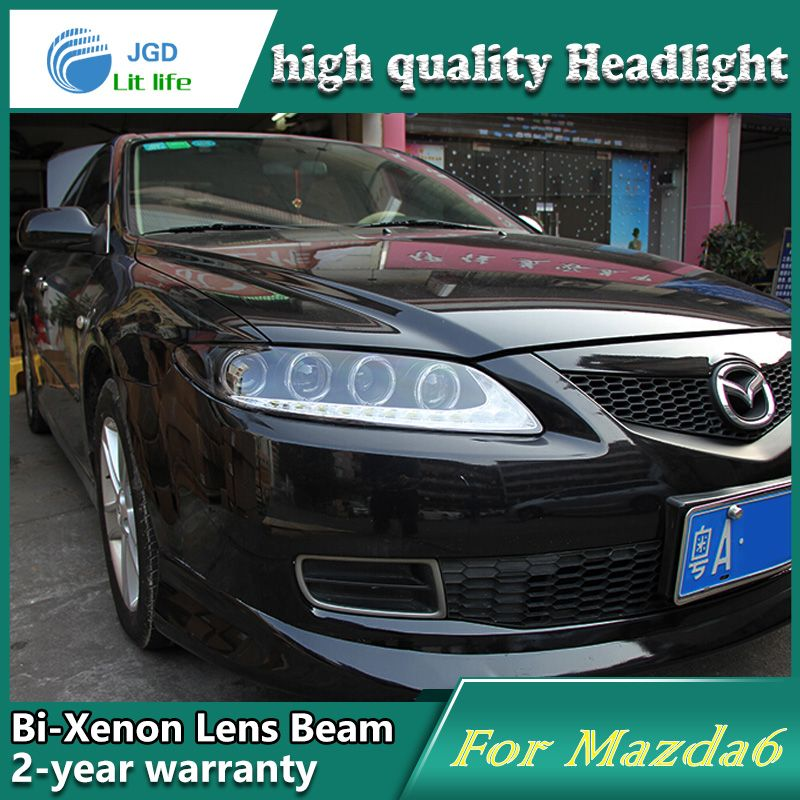 Car Styling Head Lamp case for Mazda 6 Headlights Mazda6 LED ...