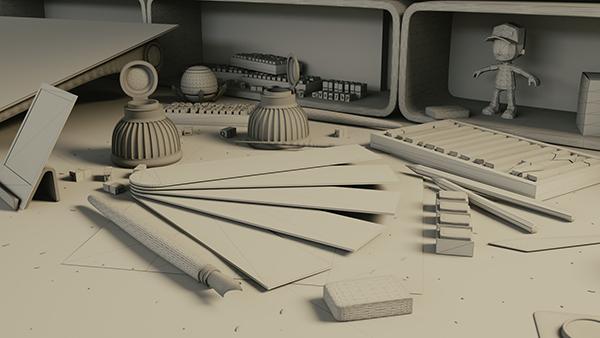 wireframe de cena 3D de render para imagem de background de website ...