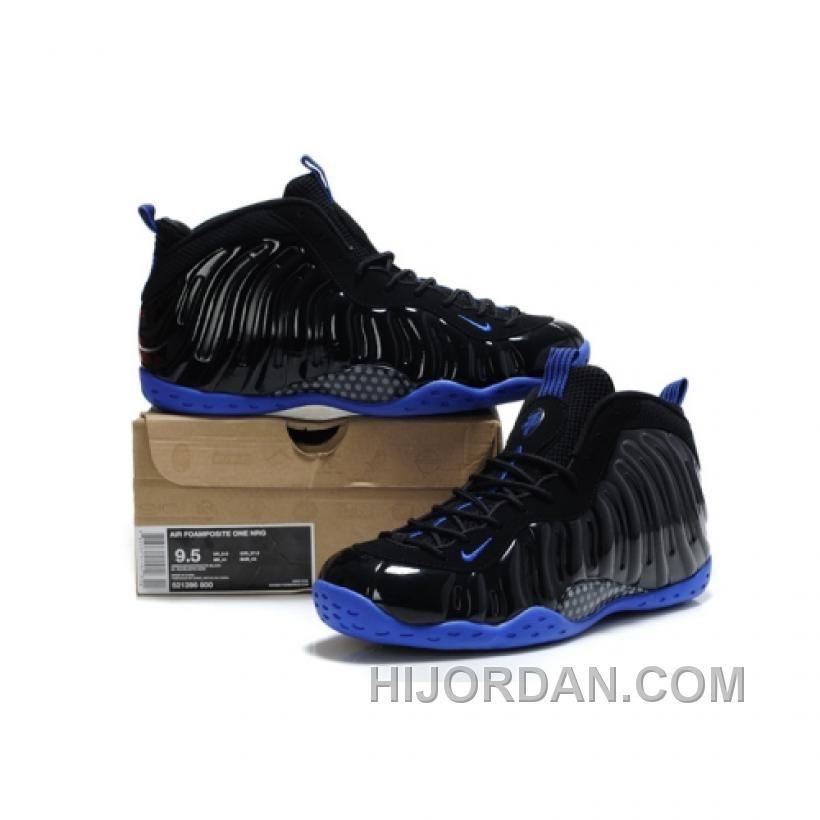 Nike Air Foamposite One Black Black Royal BXiBJ | Nike air