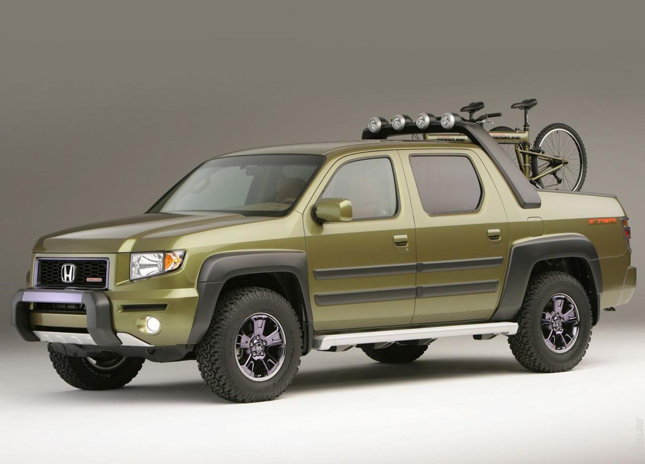 Каталог 2005 Honda Ridgeline All Terrain Concept Honda Ridgeline Honda Ridgeline Lifted Honda Ridgeline Accessories