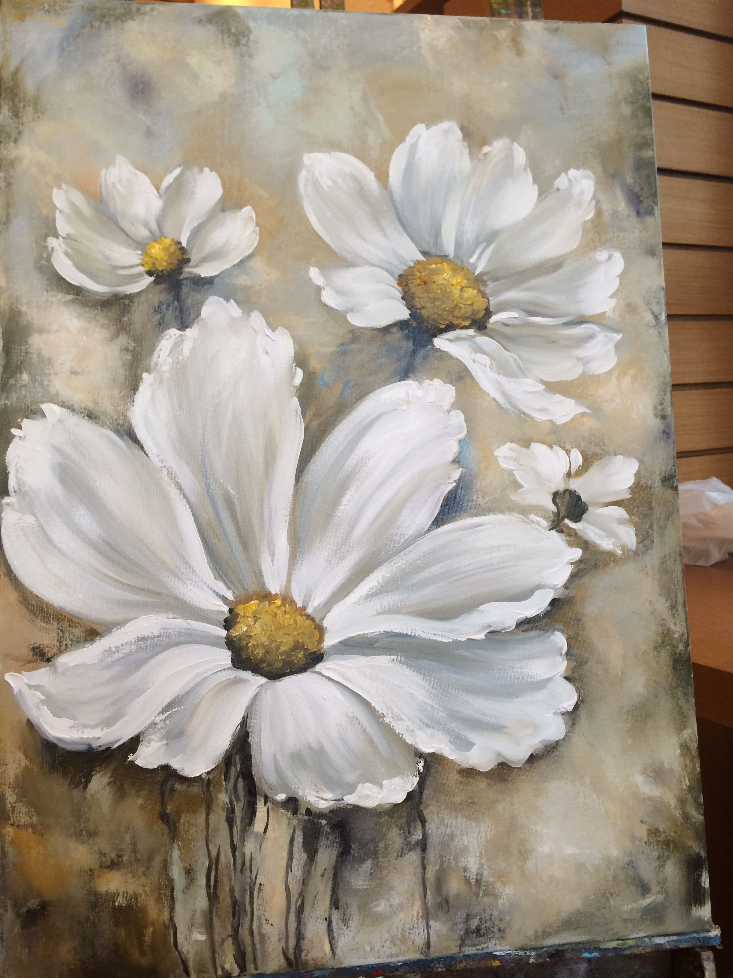ℒℴѵℯ Cjf Flower Painting Canvas Painting Canvas Art