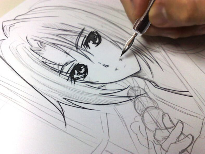 Best Sales Chinese Anime Dip Pen Ink Drawing Kits Anime Drawings