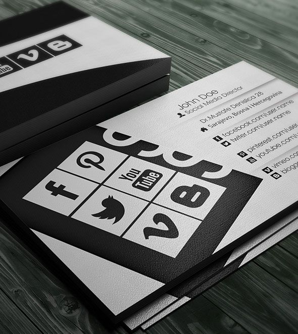 social-media-business-cards Bussiness cards, congratulation - fresh business congratulation letter format