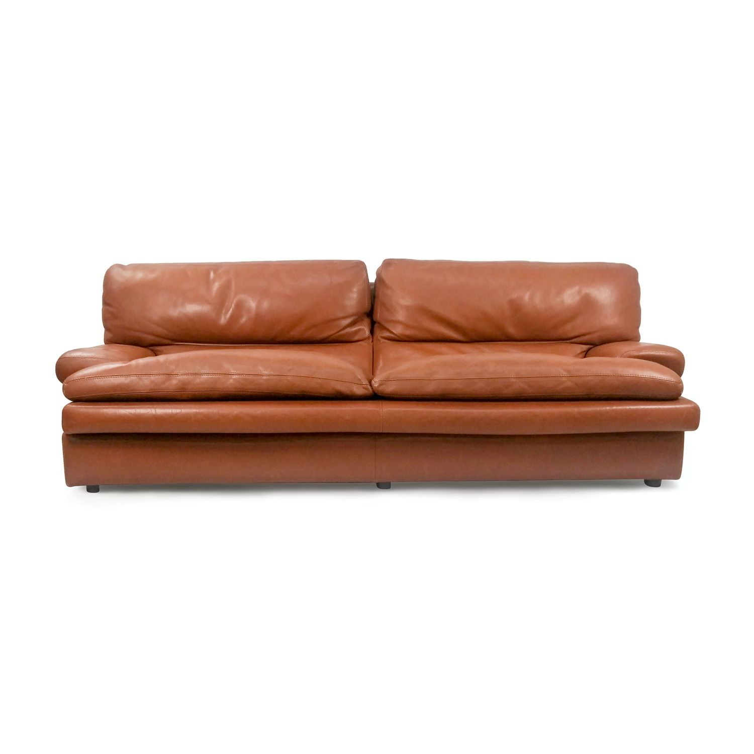 Roche Bobois Leather Sofa Furnishare S