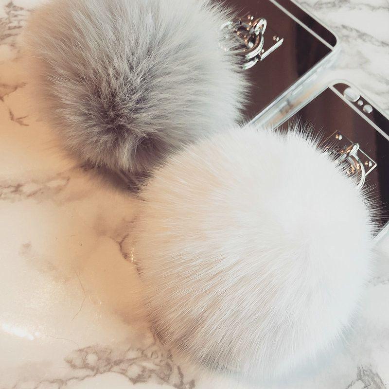 faux fur phone case iphone 7