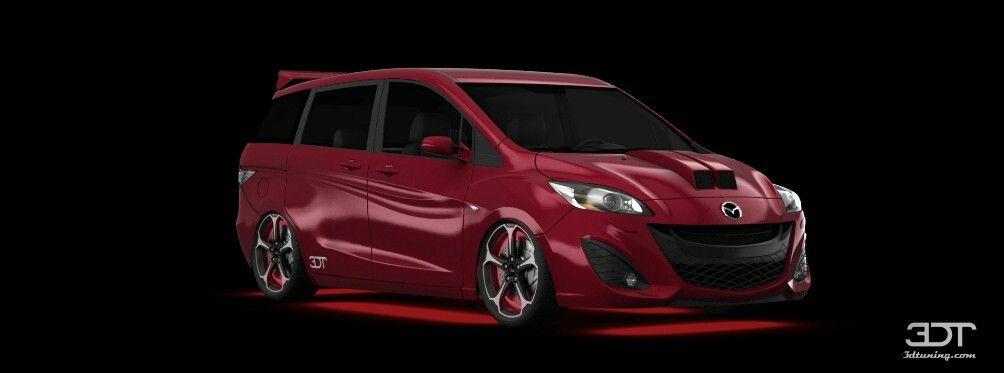 Custom Mazda 5 Minivan Microvan Mini Van Car Mazda