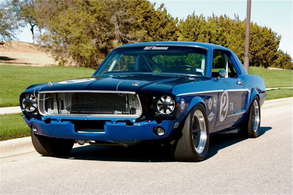 1968 Ford Mustang coupe race car Street Rods & Pro