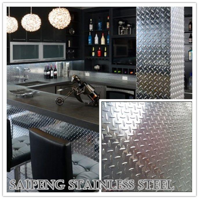 Stainless Steel Checkered Plate Can Be Used Wherever You Want Such As Bar Garage Hotel Bathroom Kitchen Etc Fantastic Resu Rom Dekorasjon Dekorasjon Rom