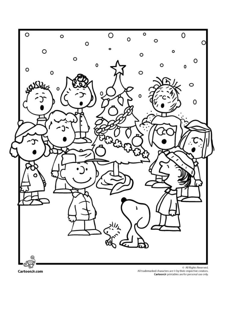 9 wonderful winter kids coloring pages  christmas