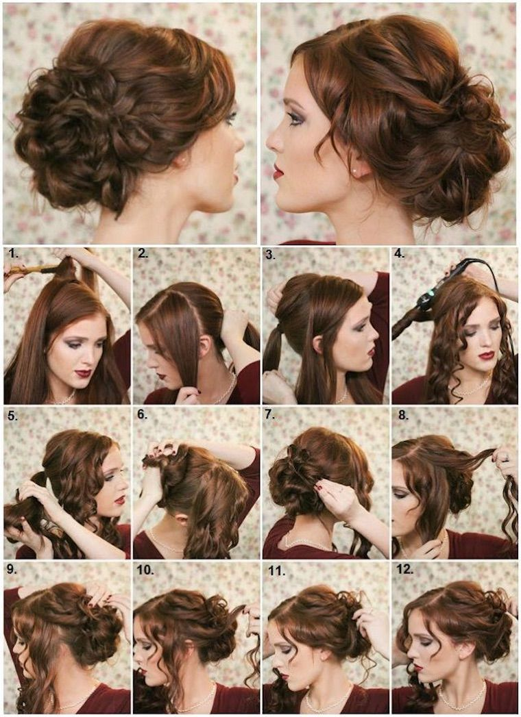 50+ Simple Hairstyles Updos Tutorials You Can Do in 10 Seconds #updotutorial