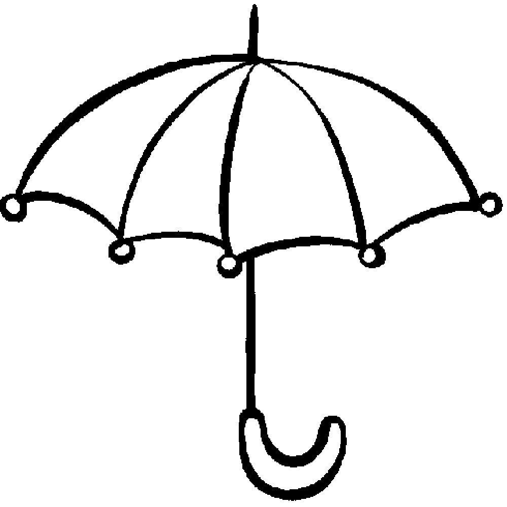 Раскраски — для самых маленьких | Раскраски, Зонтик, Зонты