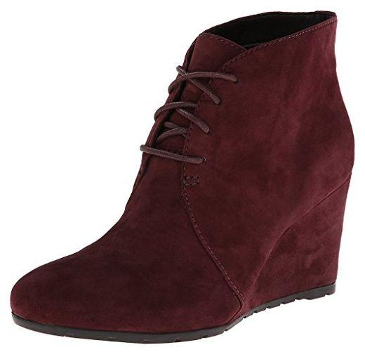 Clarks, Damen Stiefel & Stiefeletten rot burgunderfarben 38