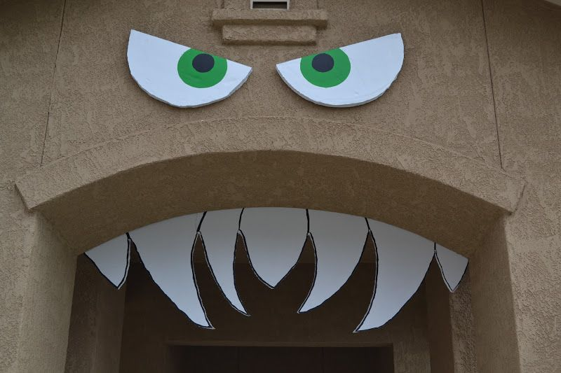 Image result for monster decorations Puppet Workshop Pinterest - fun homemade halloween decorations