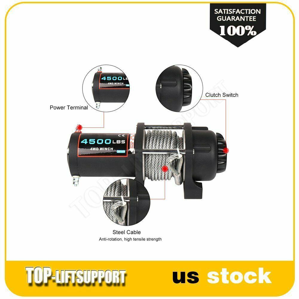 eBay #Sponsored Electric Winch 12V ATV UTV Wireless 4500LBS