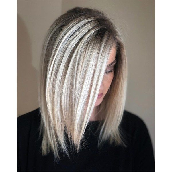 High-Contrast, Foilayaged Blonde - Behindthechair.