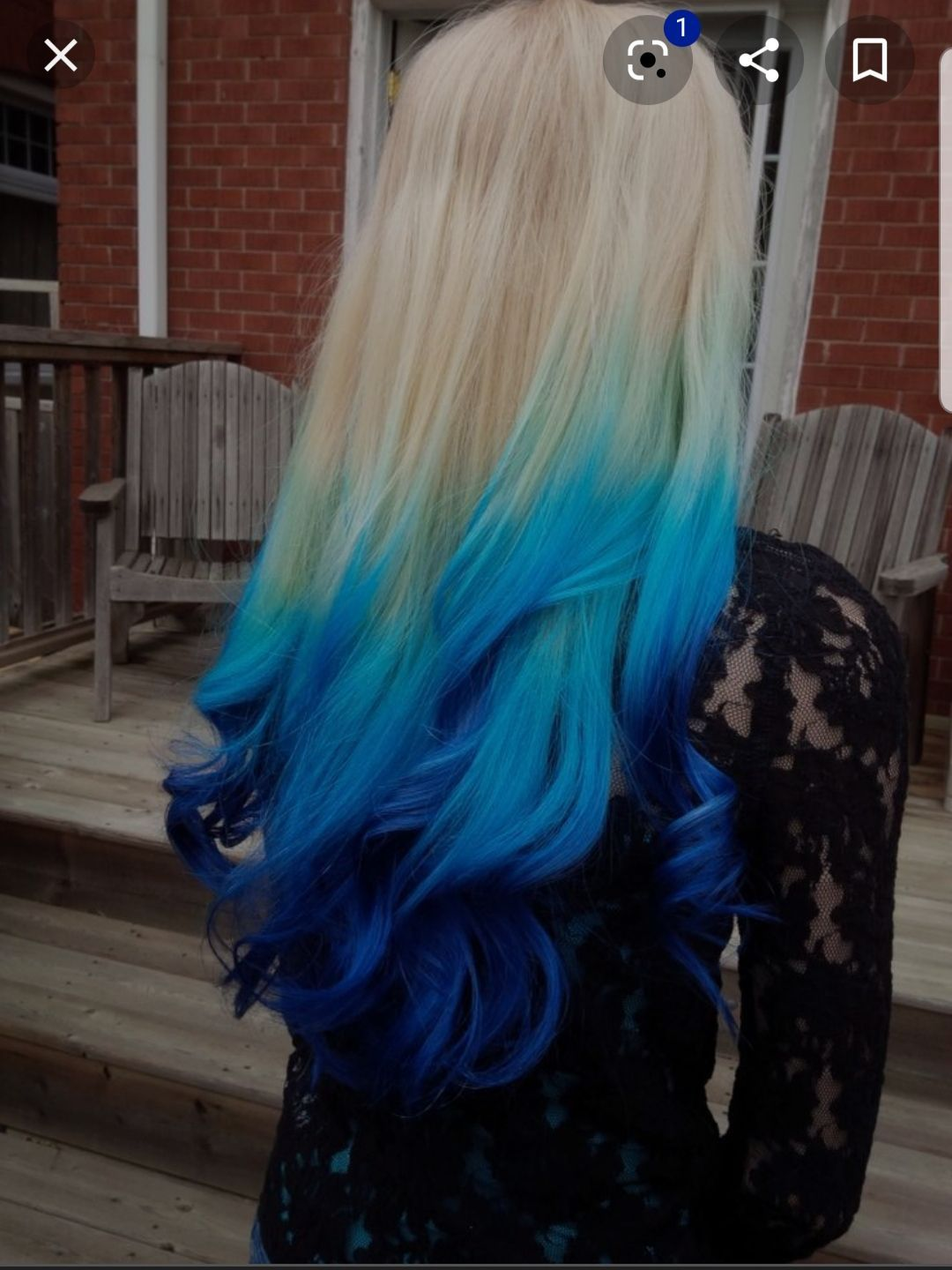10++ Navy blue and blonde hair ideas