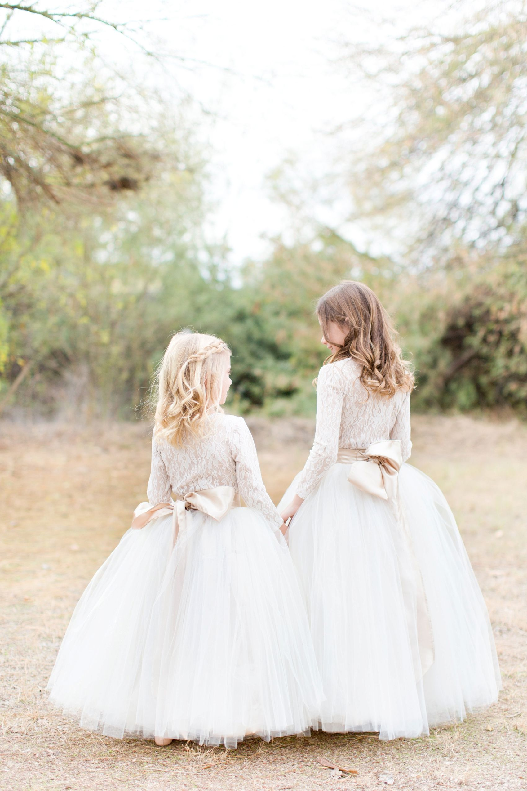 How to photograph kids at a wedding or portrait session flower