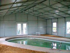 Steel Building With Indoor Pool