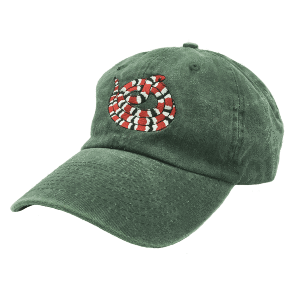 Gucci Snake Dad Hat Gucci Snake dad hat features embroidery on the front b9546d9371e