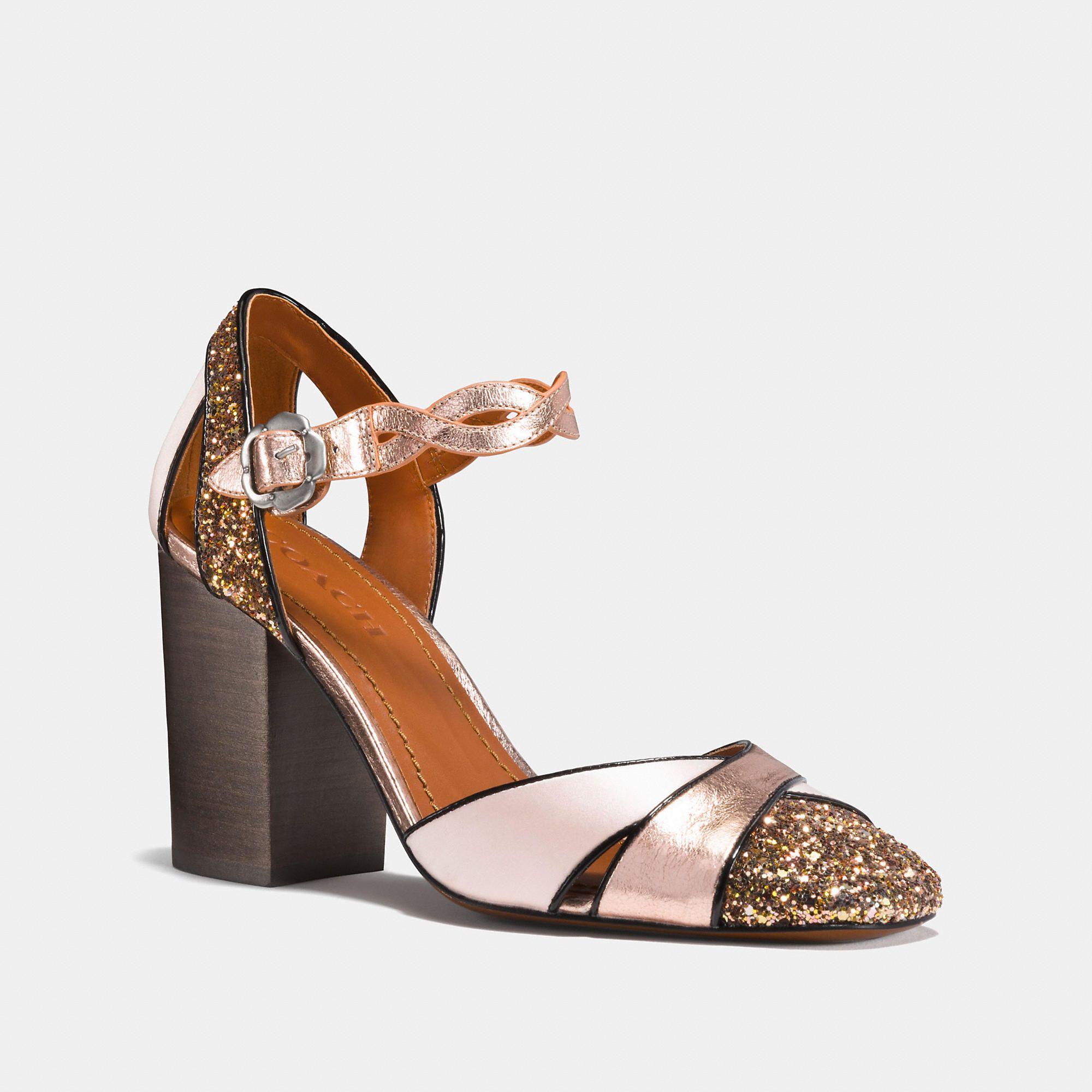 61dc3fee5b19d COACH Ankle Strap Pump - Women s Size 5.5 Pumps