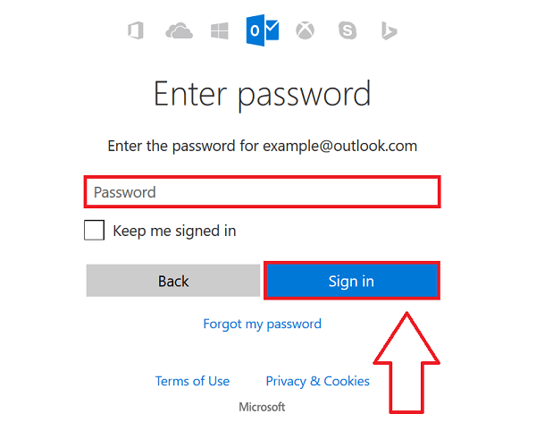Outlook Sign In Live Mail Hotmail Sign In Mail Sign